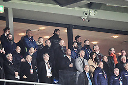 November 10, 2017 - Stockholm, Sweden - Zlatan Ibrahimovic and José Mourinho ..FIFA 2018 World Cup Qualifier Play-Off, ..Sweden - Italy 1-0, Friends Arena, Solna, Sweden  (Credit Image: © Bardell Andreas/Aftonbladet/IBL via ZUMA Wire)
