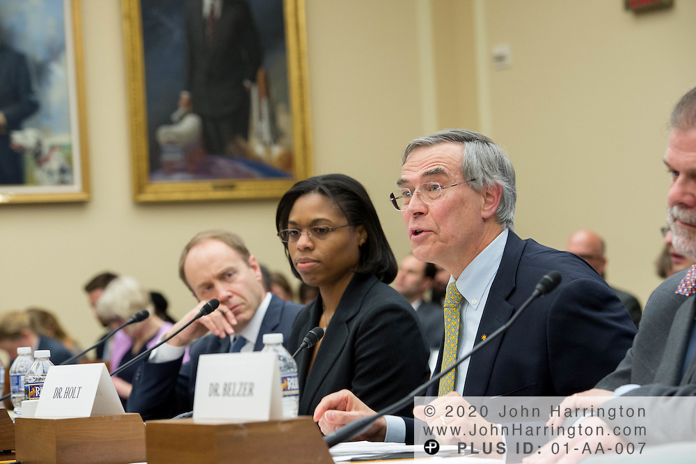 "The Honorable Rush Holt, CEO, American Association for the Advancement of Science testifies before the House Committee on Science, Space, & Technology, entitled ""Make EPA Great Again"", Tuesday February 7, 2017 on Capitol Hill in Washington, DC."