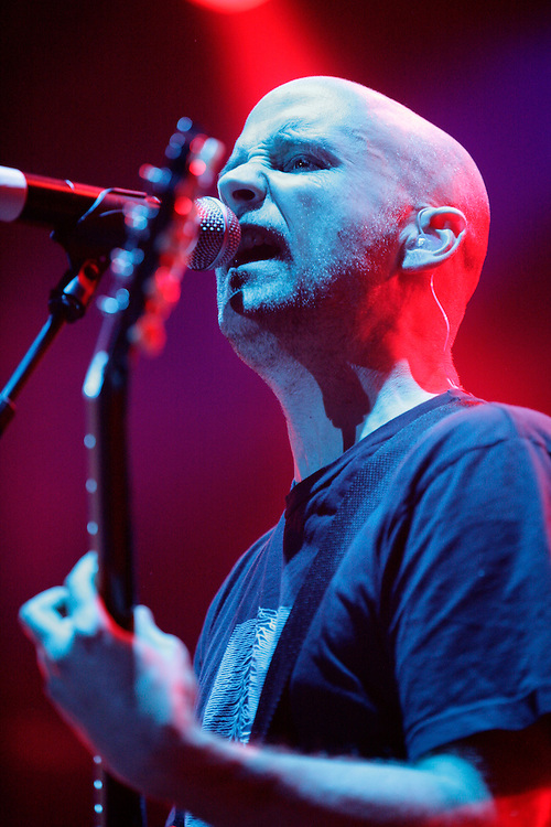 Moby performing at the 43rd Montreux Jazz Festival, Switzerland.