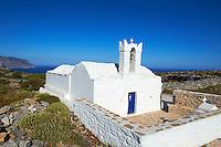 Grece, les Cyclades, ile de Amorgos, ancien village de Asfodilitis // Greece, Cyclades islands, Amorgos, Asfodilitis village