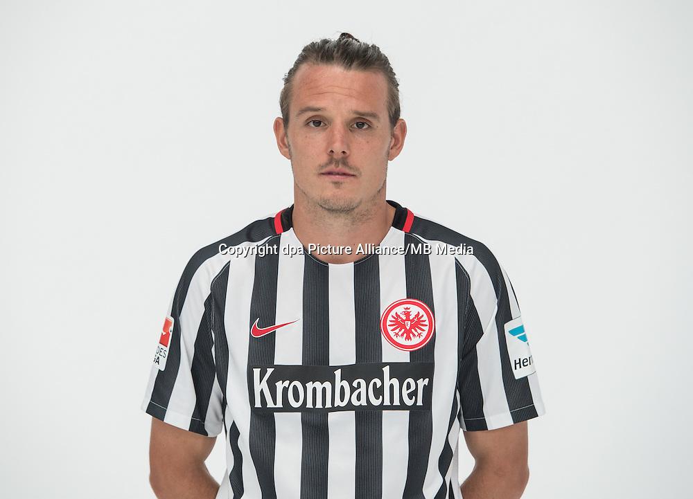 German Bundesliga - Season 2016/17 - Photocall Eintracht Frankfurt on 21 June 2016 in Frankfurt, Germany: Alexander Meier. Photo: Handout/Eintracht Frankfurt/Hübner/dpa   usage worldwide
