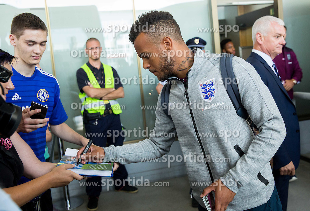 Ryan Bertrand during arrival of  England National Football team 1 day before EURO 2016 Qualifications match against Slovenia, on June 13, 2015 in Airport Joze Pucnik, Brnik - Ljubljana, Slovenia. Photo by Vid Ponikvar / Sportida