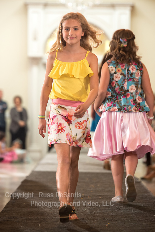 Karen's School of Fashion held its annual fashion show at Addison Park in Keyport on Sunday, May 7,2017. / Russ DeSantis Photography and Video, LLC