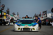 March 17-19, 2016: Mobile 1 12 hours of Sebring 2016. #21 Pierre Ehret, Konrad Motorsport, Lamborghini Huracán GT3