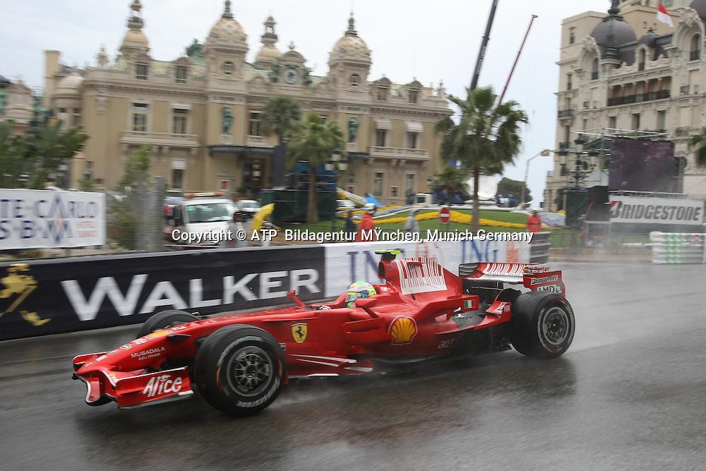 Felipe Massa, Scuderia Ferrari. Monaco F1 Grand Prix. 25 May 2008. Photo: ATP/PHOTOSPORT