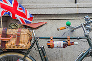 "Ready for the picnic. The Tweed Run 2015 - it's 7th annual British public bicycle ride through London's historic streets, with a prerequisite that participants are dressed in their best tweed cycling attire. There are also plenty of handle bar moustaches, penny farthings and Union Jacks. ""Guests can expect a leisurely day cycling, stopping at some of London's most iconic landmarks to enjoy a spot of tea, a picnic in the park and finally a jolly good knees-up in a beautiful art-deco ballroom for the Tweed Run closing ceremony. Starting at Trafalgar Square, the cyclists then embarked on a 12 mile scenic ride through London, stopping at traditional spots."