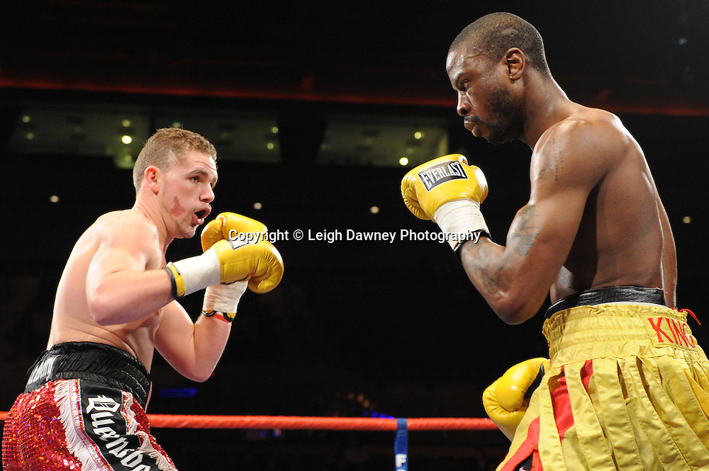 "Billy Joe Saunders defeats Tony Randell at the Echo Arena, Lverpool,11th December 2010,Frank Warren.tv Promotions ""Return Of The Magnificent Seven"" © Photo Leigh Dawney"