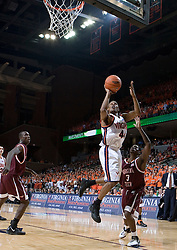 Virginia Cavaliers point guard Sean Singletary (44) shoots an open shot against VT. The Virginia Cavaliers Men's Basketball Team defeated the Virginia Tech Hokies 69-56 at the John Paul Jones Arena in Charlottesville, VA on March 1, 2007.