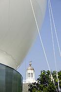 SERPENTINE PAVILION 2006, LONDON, W2 PADDINGTON, UK, REM KOOLHAAS - OFFICE FOR METROPOLITAN ARCHITECTURE, EXTERIOR, DETAIL OF CANOPY