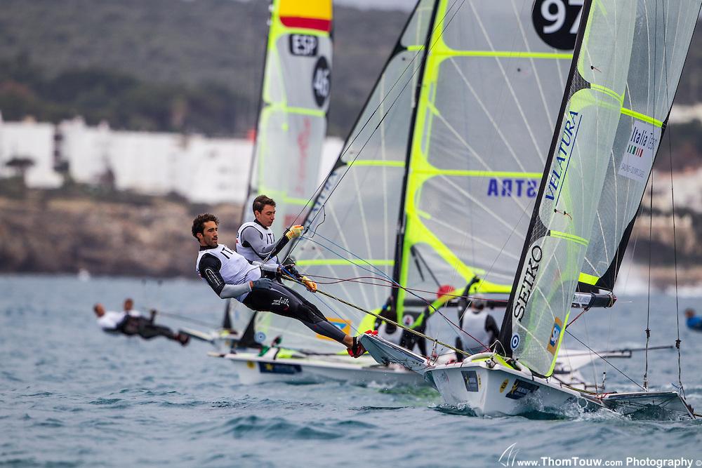 Sailing Regattas in Olympic Classes, Copyright Thom Touw Photography