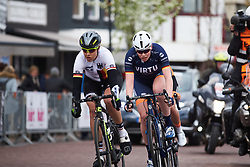 Mieke Kröger (GER) in the break at Healthy Ageing Tour 2019 - Stage 2, a 134.4 km road race starting and finishing in Surhuisterveen, Netherlands on April 11, 2019. Photo by Sean Robinson/velofocus.com