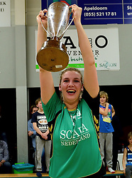 12-04-2014 NED: Finale vv Alterno - Sliedrecht Sport, Apeldoorn<br /> Alterno pakt het kampioenschap door Sliedrecht voor de derde maal te verslaan / Moniek Jansen