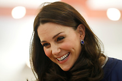 The Duchess of Cambridge during her visit to the Royal College of Obstetricians and Gynaecologists in London.