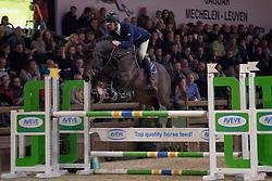 Vrins Nick, BEL, Magnum van t Heike<br /> Pavo Hengstencompetitie <br /> BWP Hengsstenkeuring - Azelhof 2017<br /> © Dirk Caremans
