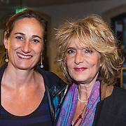 NLD/Leiden/20130930 - Premiere Garland, Leonie Jansen en vriendin Sabine