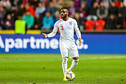 England defender Danny Rose calls for someone to pass too during the UEFA European 2020 Qualifier match between Czech Republic and England at Sinobo Stadium, Prague, Czech Republic on 11 October 2019.