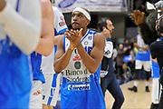 DESCRIZIONE : Beko Legabasket Serie A 2015- 2016 Dinamo Banco di Sardegna Sassari - Betaland Capo d'Orlando<br /> GIOCATORE : Josh Akognon<br /> CATEGORIA : Ritratto Esultanza Postgame Ritratto<br /> SQUADRA : Dinamo Banco di Sardegna Sassari<br /> EVENTO : Beko Legabasket Serie A 2015-2016<br /> GARA : Dinamo Banco di Sardegna Sassari - Betaland Capo d'Orlando<br /> DATA : 20/03/2016<br /> SPORT : Pallacanestro <br /> AUTORE : Agenzia Ciamillo-Castoria/C.Atzori