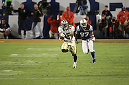 MIAMI, FL - FEBRUARY  7: Tracy Porter #22 of the New Orleans Saints returns an interception for a touchdown in the fourth quarter against the Indianapolis Colts in Super Bowl XXXIV at Sun Life Stadium on February 7, 2010 in  in Miami, Florida. The Saints defeated the Colts 31-17. Photo by Tom Hauck.