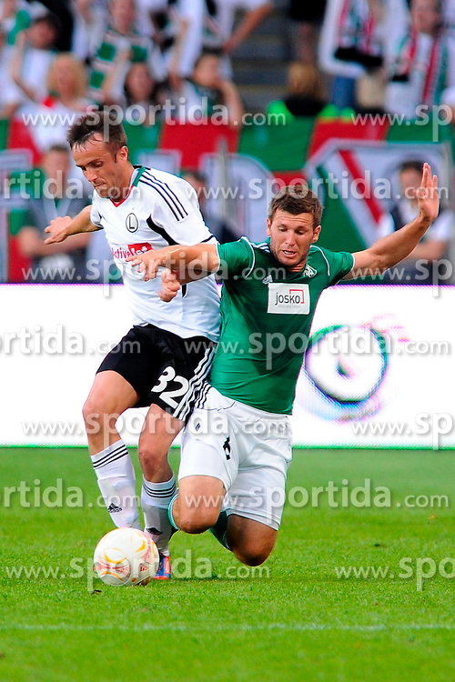 09.08.2012, Pepsi Arena, Warschau, AUT, UEFA EL, Rueckspiel, Legia Warschau (POL) vs SV Josko Ried (AUT), im Bild MIROSLAV RADOVIC // during the UEFA Europa League 2nd Leg Match between Legia Warschau (POL) and SV Josko Ried (AUT) at the Pepsi Arena, Warsaw, Poland on 2012/08/09. EXPA Pictures © 2012, PhotoCredit: EXPA/ Newspix/ ATTENTION - for AUT, SLO, CRO, SRB, SUI and SWE only *****