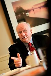 UK ENGLAND LONDON 10APR07 - Ed Fuller, President & Managing Director of Mariott Lodging International reacts during FVW interview at the London Park Lane Mariott Hotel...jre/Photo by Jiri Rezac..© Jiri Rezac 2007..Contact: +44 (0) 7050 110 417.Mobile:  +44 (0) 7801 337 683.Office:  +44 (0) 20 8968 9635..Email:   jiri@jirirezac.com.Web:    www.jirirezac.com..© All images Jiri Rezac 2007 - All rights reserved.