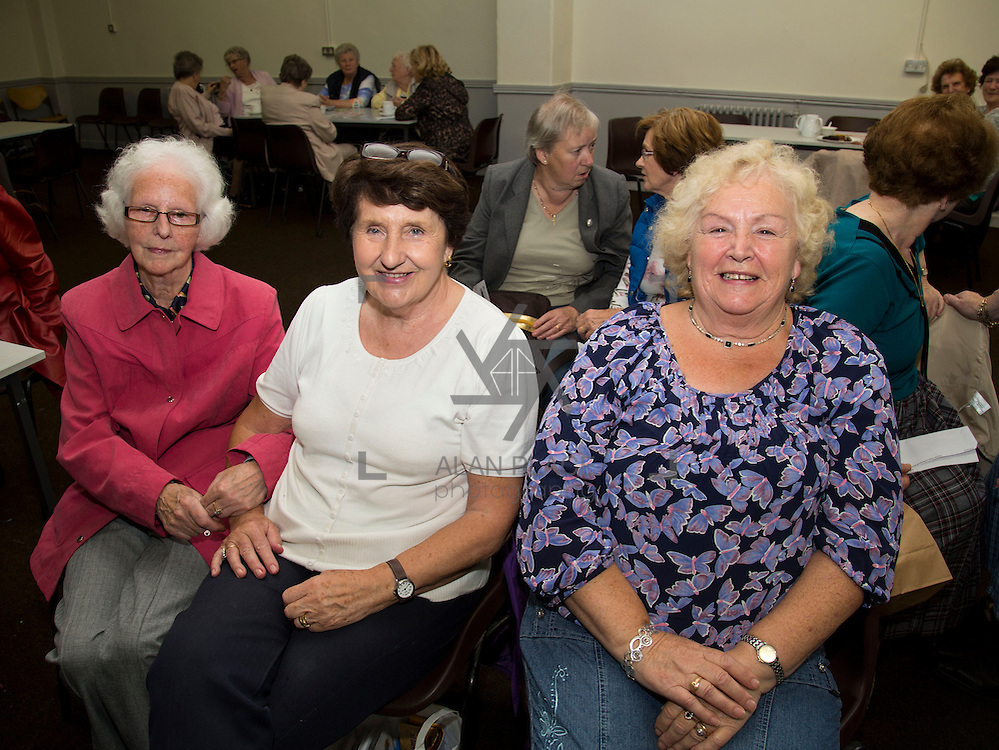01.10.14            <br /> The Limerick City Community Safety Partnership will host a Safety Information Day for Older People. The event will feature important personal and home safety information for older people. Nutritional advice, occupational therapy, and care and repair demonstrations will also be provided. Advice and literature on a range of issues will be provided on the day by agencies including An Garda Síochána, Limerick City and County Council, Home Instead Senior Care, Limerick Fire and Rescue Service and the HSE. <br /> Attending the event at St. Johns Pavilion were, Marie McCauley, St. Mary's, Teresa O'Brien, St. Johns and Helen Reidy, St. Johns. Picture: Alan Place.