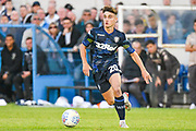 Leeds United Niall Huggins (20) during the Pre-Season Friendly match between Guiseley  and Leeds United at Nethermoor Park, Guiseley, United Kingdom on 11 July 2019.