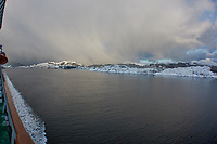 Måløy to Torvik & Sunrise. Image taken with a Nikon 1 V2 camera and 10 mm f/2.8 lens.