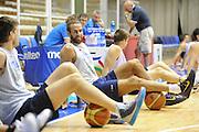 Trieste, 08/08/2012<br /> Baslet, Nazionale Italiana Maschile Senior<br /> Allenamento<br /> Nella foto: Luigi Datome<br /> Foto Ciamillo