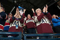 REGINA, SK - MAY 25: Fans at the Brandt Centre on May 25, 2018 in Regina, Canada. (Photo by Marissa Baecker/CHL Images)