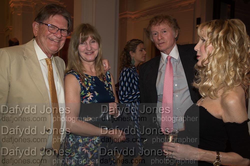 JOHN MADEJSKI; CLAIRE HALL; RICHARD BRIGGS; BASIA BRIGGS Opening of The New Royal Academy of arts, London. 15 May 2018