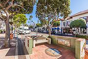 Street Scene Downtown San Clemente on Avenida Del Mar