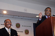 14 April 2010- New York, NY- l to r: Michael Steele, Chairman of The Republican National Committe and Rev. Al Sharpton at the National Action Network 12th Annual National Convention held at The Sheraton New York on April 14, 2010 in New York City.