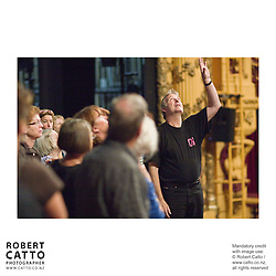 Members of the Festival staff and production crew show?the Friends of the Festival how it's done in a backstage tour of the St James Theatre, TSB Arena and Shed 6 venues.