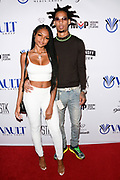 ROBBY ANDERSON and guest arrive at the 10th Annual All-Star Celebrity Kickoff Party in Celebration of ESPY's Week at STK in Los Angeles, California.