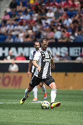 July 28, 2018 - Harrison, New Jersey, United States - Juventus midfielder MIRALEM PJANIĆ (5) during the International Champions Cup at Red Bull Arena in Harrison, NJ.  Juventes vs Benfica (Credit Image: © Mark Smith via ZUMA Wire)