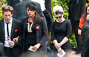 Kelly Osborne leaves Amy's Winehouse funeral at Golders Green Crematorium July 26.2011... Signer Amy Winehouse who was found dead in her flat on July 23 in London..Tributes have been paid to singer Amy Winehouse, 27, has been found dead at her north London home on July 23rd 2011...A Metropolitan Police spokesman said the cause of Winehouse's death was as yet unexplained...The Brit and Grammy award-winner had struggled with drink and drug addiction and had recently spent time in rehab....