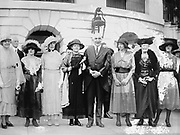 Marie Curie with President Warren Harding at the White House in Washington DC.