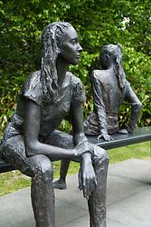 Art installation at Sapporo Sculpture park in Hokkaido Japan 2007