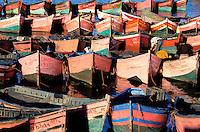 Maroc, Côte Atlantique, El Jadida, Remparts de la vieille ville portuguaise, port de pêche // Old Portuguese fort and fishing harbour, El Jadida, Morocco
