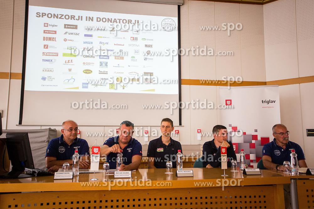 During press conference for 48. Grand prix of Kranj, on July 27, 2016 in Kranj, Slovenia. Photo by Ziga Zupan / Sportida