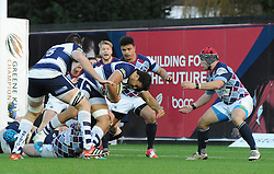 - Photo mandatory by-line: Paul Knight/JMP - Mobile: 07966 386802 - 23/11/2014 - SPORT - Rugby - Bristol - Ashton Gate - Bristol Rugby v Rotherham Titans - Greene King IPA Championship