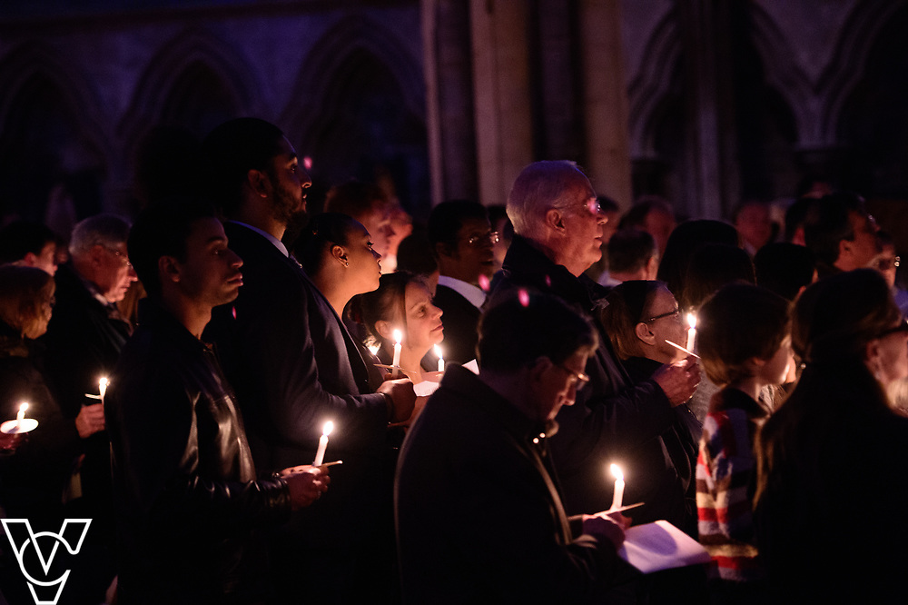 The Paschal Vigil at Lincoln Cathedral, including baptism and conformations.<br /> <br /> Picture: Chris Vaughan Photography for Diocese of Lincoln<br /> Date: April 15, 2017