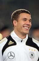 Fussball           EM Qualifikation        17.11.07 Deutschland - Zypern Lukas PODOLSKI (GER), Portrarit.