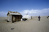 Mongolian house (yurt)