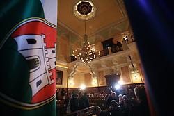 Javno odpiranje ponudb za izbiro zasebnega strateskega partnerja pri gradnji sportnega parka v Stozicah, 28. februar 2008, Mestna hisa, Ljubljana, Slovenija. .(Photo by Vid Ponikvar / Sportal Images)