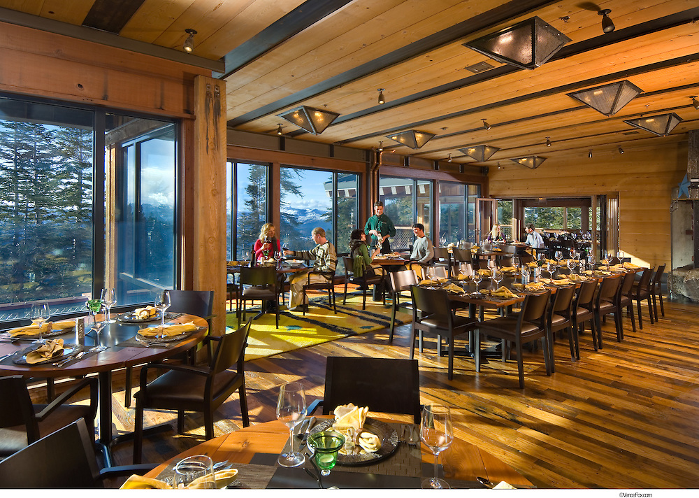 Hospitality Restaurant Schaffer's Camp at Northstar Ski Area by Faulkner Architects and Q&D Construction