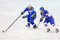 Svetina Tamara of Slovenia during hockey match between Slovenia and Great Britain in IIHF World Womens Championship, Division II, Group A, on April 4, 2018 in Ledena dvorana Maribor, Maribor, Slovenia. Photo by Ziga Zupan / Sportida