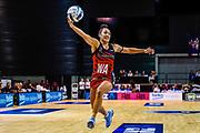Erikana Pedersen of the Tactix during the ANZ Premiership Netball match, Tactix V Magic, Horncastle Arena, Christchurch, New Zealand, 6th June 2018.Copyright photo: John Davidson / www.photosport.nz