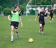 Dundee&rsquo;s Craig Wighton and Dundee&rsquo;s Nicky Low - Day 2 of Dundee FC pre-season training camp in Obertraun, Austria<br /> <br />  - &copy; David Young - www.davidyoungphoto.co.uk - email: davidyoungphoto@gmail.com