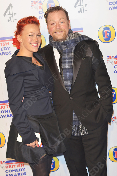 16.DECEMBER.2011. LONDON<br /> <br /> COMEDIAN RUFUS HOUND ARRIVING AT THE 'BRITISH COMEDY AWARDS 2011' HELD AT THE FOUNTAIN STUDIOS IN WEMBLEY, LONDON.<br /> <br /> BYLINE: EDBIMAGEARCHIVE.COM<br /> <br /> *THIS IMAGE IS STRICTLY FOR UK NEWSPAPERS AND MAGAZINES ONLY*<br /> *FOR WORLD WIDE SALES AND WEB USE PLEASE CONTACT EDBIMAGEARCHIVE - 0208 954 5968*